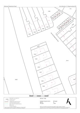 Floorplan - Cornelis Bregmanstraat 53, 1741 BK Schagen