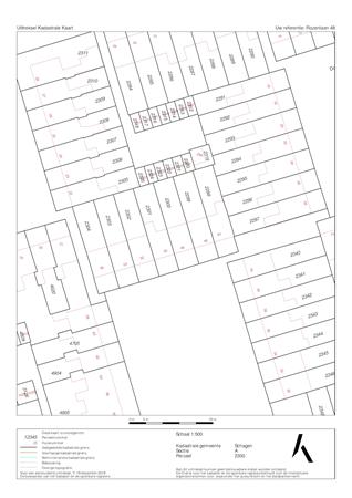 Floorplan - Rozenlaan 48, 1741 ZC Schagen