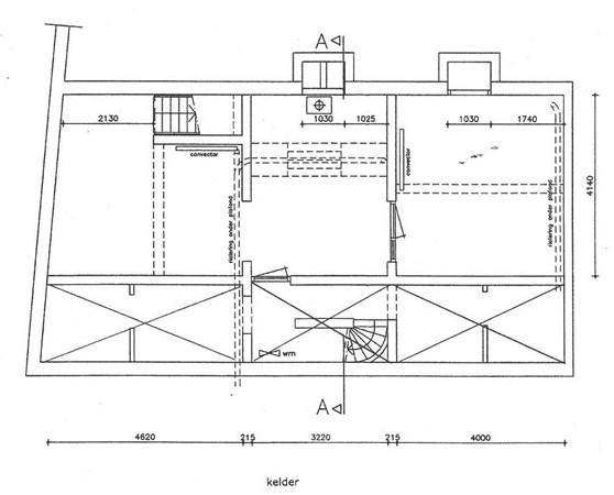 Floorplan - Pauwelstraat 1, 6511 KW Nijmegen