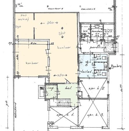 Floorplan - Voorstadslaan 254, 6542 TG Nijmegen