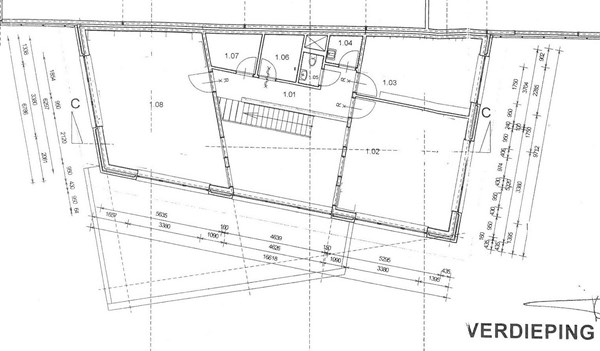 Floorplan - De Bouwkamp 7, 6576 JX Ooij
