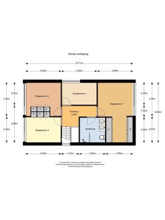 Floorplan - Middelweg 98-100, 6584 AJ Molenhoek