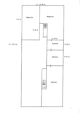 Floorplan - Torenlaan 44, 7559 PJ Hengelo