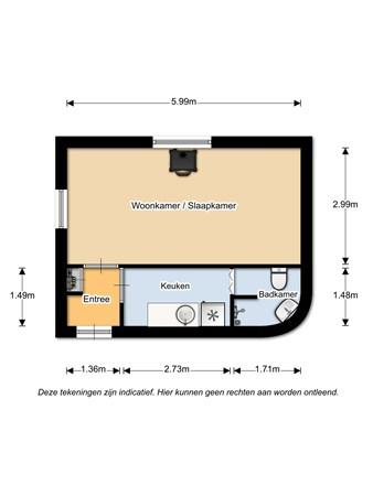 Floorplan - Hoofdstraat 29, 7561 AB Deurningen