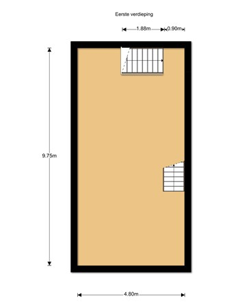 Floorplan - Sloetsweg 55-3, 7557 HT Hengelo