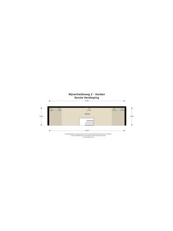 Floorplan - Nijverheidsweg 2a, 7251 JV Vorden