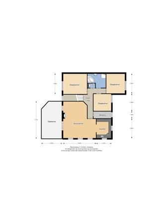 Floorplan - Nijverheidsweg 11, 6651 KS Druten