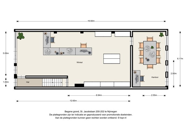 Floorplan - St. Jacobslaan 200-202, 6533 VP Nijmegen