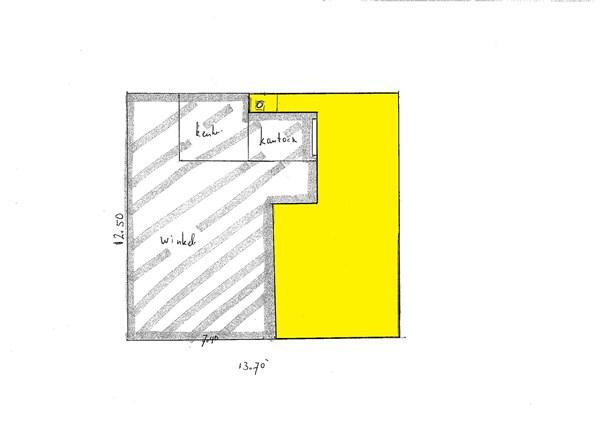 Floorplan - Ettenstraat 5, 9411 KT Beilen