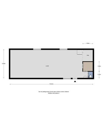 Floorplan - Stavangerweg 43-20, 9723 JC Groningen