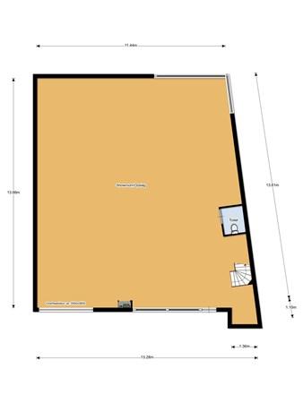 Floorplan - Boerhaaveweg 72, 3401 MN IJsselstein