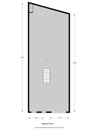 Floorplan - Nijverheidsweg 19A, 3401 MC IJsselstein