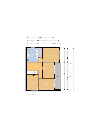 Floorplan - Kanaalkade 70, 1756 AD Het Zand