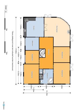 Floorplan - Witte Paal 318, 1742 LD Schagen