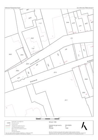 Floorplan - Molenstraat 9, 1741 GJ Schagen