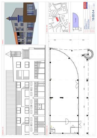 Floorplan - Duinvoetweg 2-4, 1871 EA Schoorl