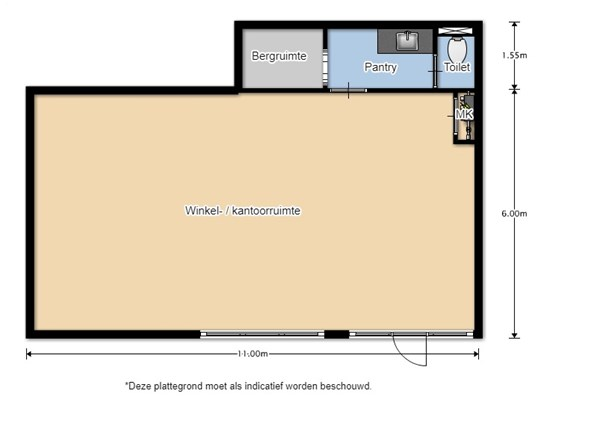 Floorplan - Fazantstraat 2, 1771 CR Wieringerwerf