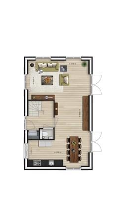 Floorplan - Bouwnummer Bouwnummer 23, 6678 AL Oosterhout