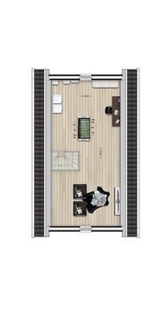 Floorplan - Bouwnummer 10, 6678 AL Oosterhout