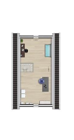 Floorplan - Bouwnummer Bouwnummer 34, 6678 AL Oosterhout