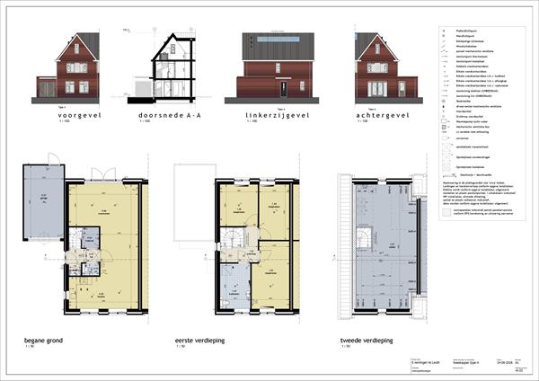 Floorplan - Bouwnummer 1, 6578 AL Leuth